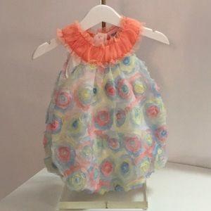 Other - Baby dressy romper